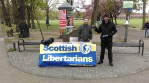Campaigning in the Meadows, Edinburgh