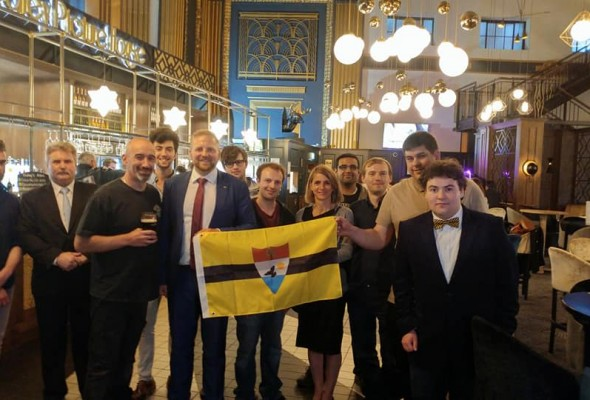 The Liberland Team Visits Edinburgh