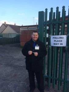 The candidate in the Kilmarnock by-election