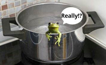 Frog Boiling and Free Speech