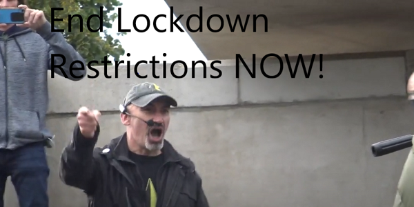 End Lockdown Restrictions Now